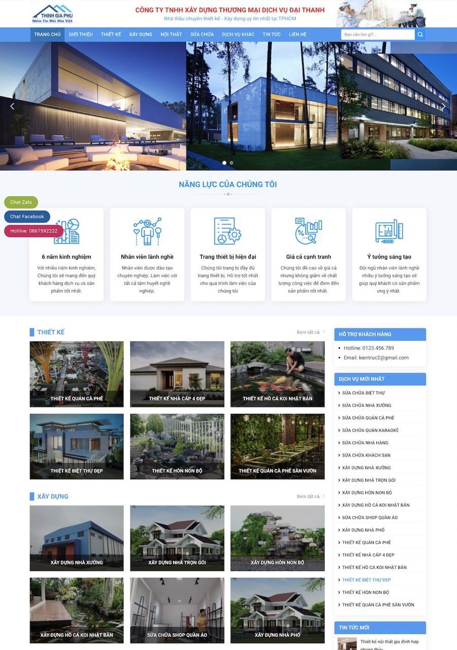 Kiến trúc Gia Phú 01 do Nga Linh thiết kế