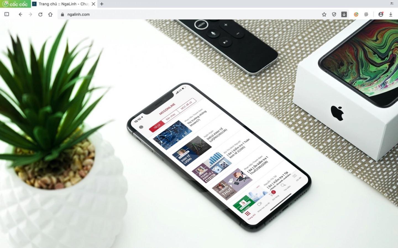 Dự án app IOS/Android Mentortee do Nga Linh tư vấn và thiết kế