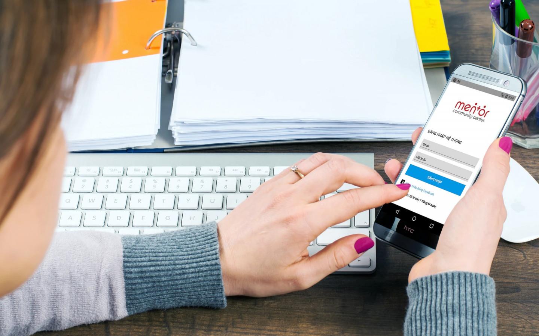 Dự án app IOS Mentortee do Nga Linh tư vấn và thiết kế